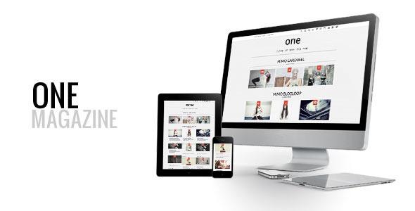 ThemeForest One Multipurpose Responsive Wordpress Magazine 5873903
