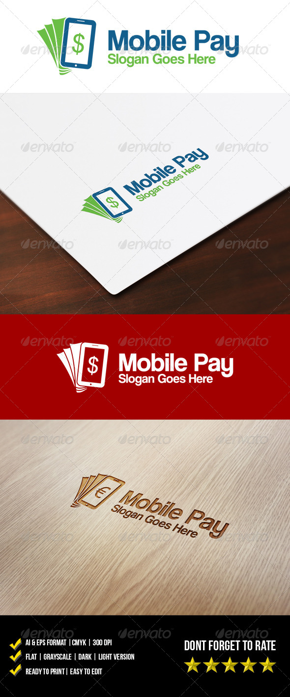 GraphicRiver Mobile Pay Logo 5952442