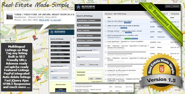Real Estate Made Simple v1.5 | CodeCanyon