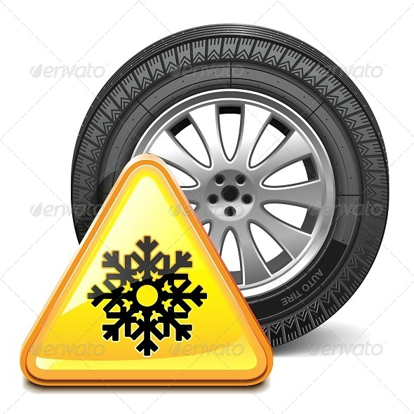GraphicRiver Vector Wheel with Sign 5955440