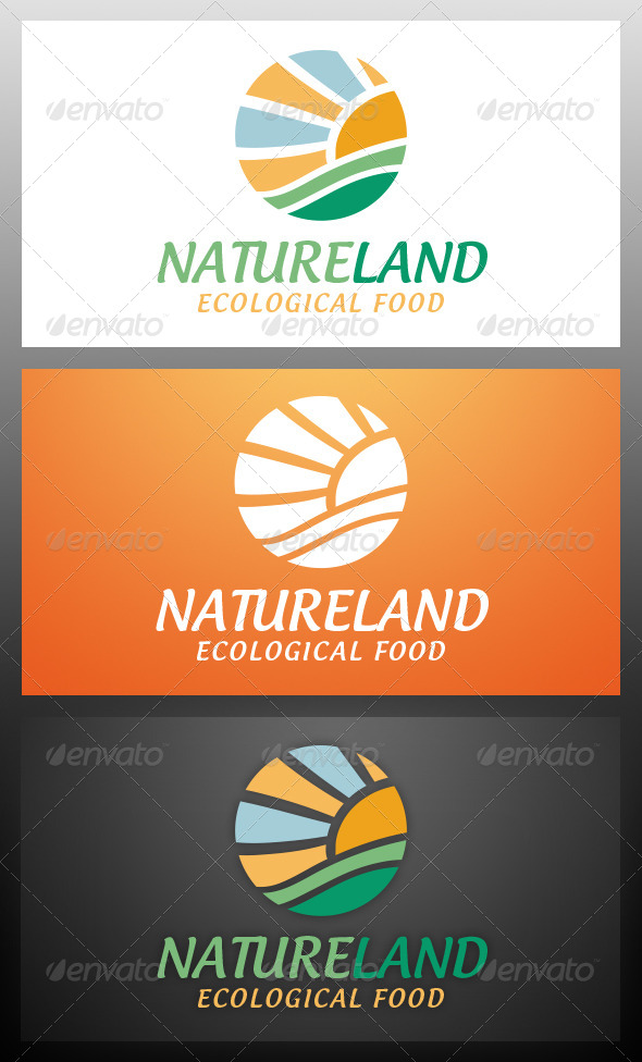 GraphicRiver Nature Logo Template 5957199