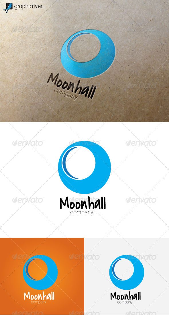 GraphicRiver Moonhall Logo 5957768