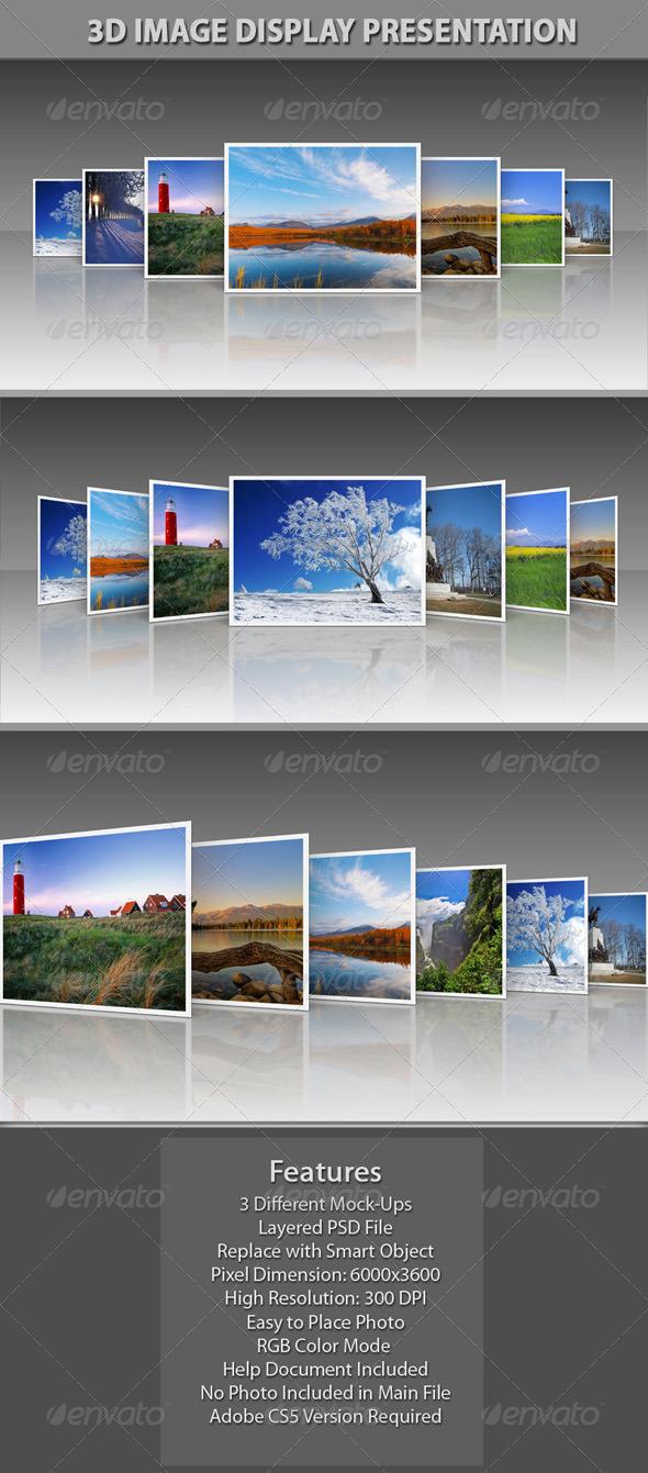 GraphicRiver 3D Image Display Presentation 5957964