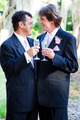 Gay Wedding Couple - Champagne Toast - PhotoDune Item for Sale