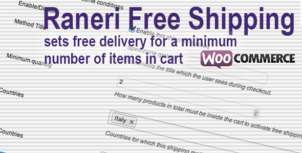 CodeCanyon Conditional Free Shipping WooCommerce Plugin 5923615