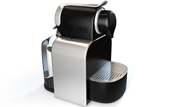 3DOcean Realistic High-End Nespresso Model and Light Setup 5959304