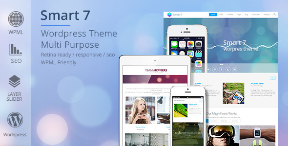 Smart7 - Multi-Purpose Responsive Theme - Corporate WordPress