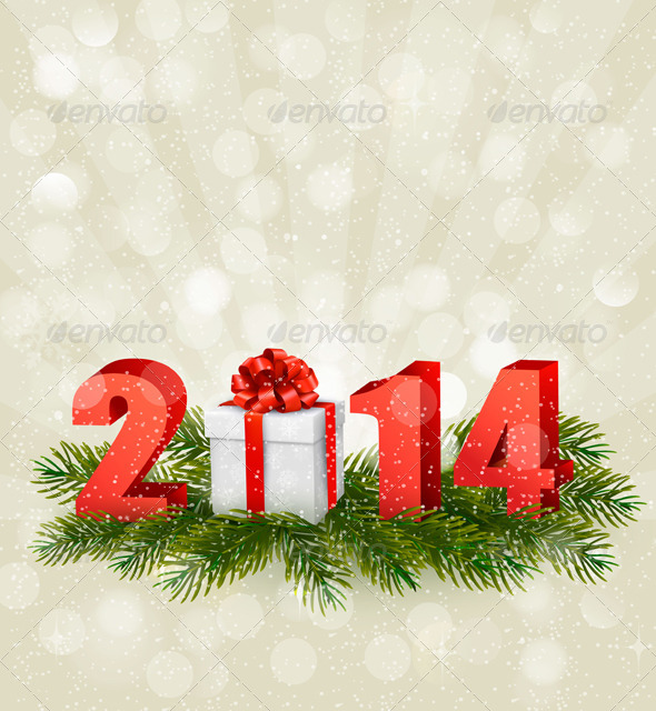 GraphicRiver Happy New Year Design Template 5960081