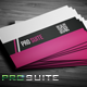Prosuite Corporate Business Card Design - GraphicRiver Item for Sale