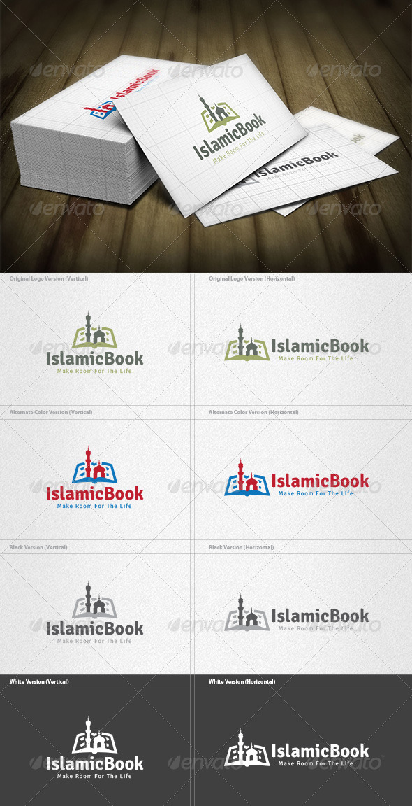 GraphicRiver Islamic Book Logo 5960557
