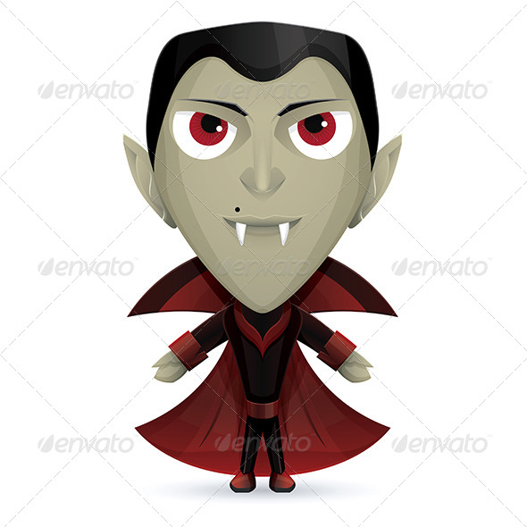 GraphicRiver Dracula Happy 5961265