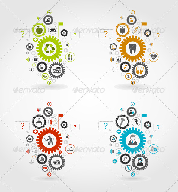 GraphicRiver Gear Wheel 7 5963077