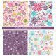 Seamless Floral Colorful Pattern Background - GraphicRiver Item for Sale
