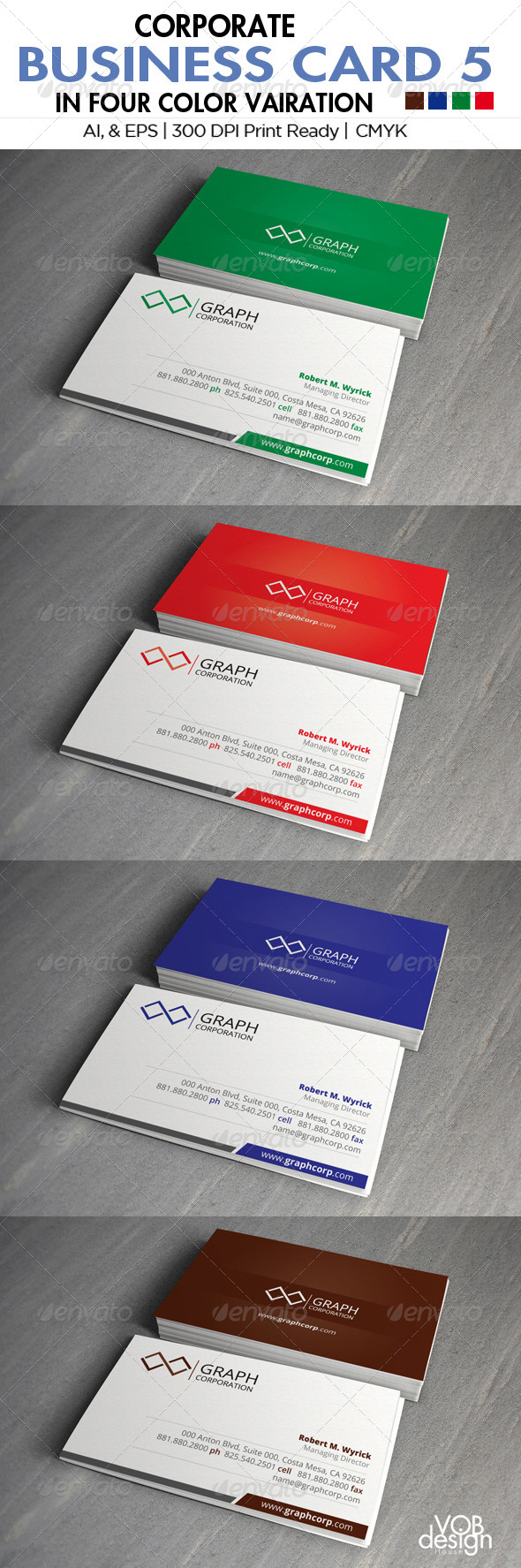 GraphicRiver Corporate Business Card 5 5963986
