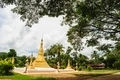 Golden pagoda mixed arts Thailand - Burma in in Thai temple. - PhotoDune Item for Sale