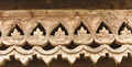 Carved wooden lattice work with Thai style pattern art. - PhotoDune Item for Sale