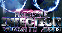Hardstyle Electro Party Flyer Template