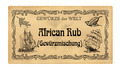 German spice label  African Rub, Gewuerzmischung (spice mixture) - PhotoDune Item for Sale