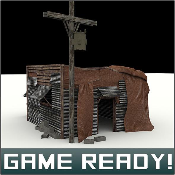 3DOcean Slums Building #7 5966219