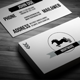 Nightmare Retro Business Card - GraphicRiver Item for Sale