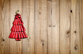 Christmas tree decoration on wooden background - PhotoDune Item for Sale