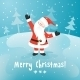 Santa Claus Vector Christmas Card - GraphicRiver Item for Sale
