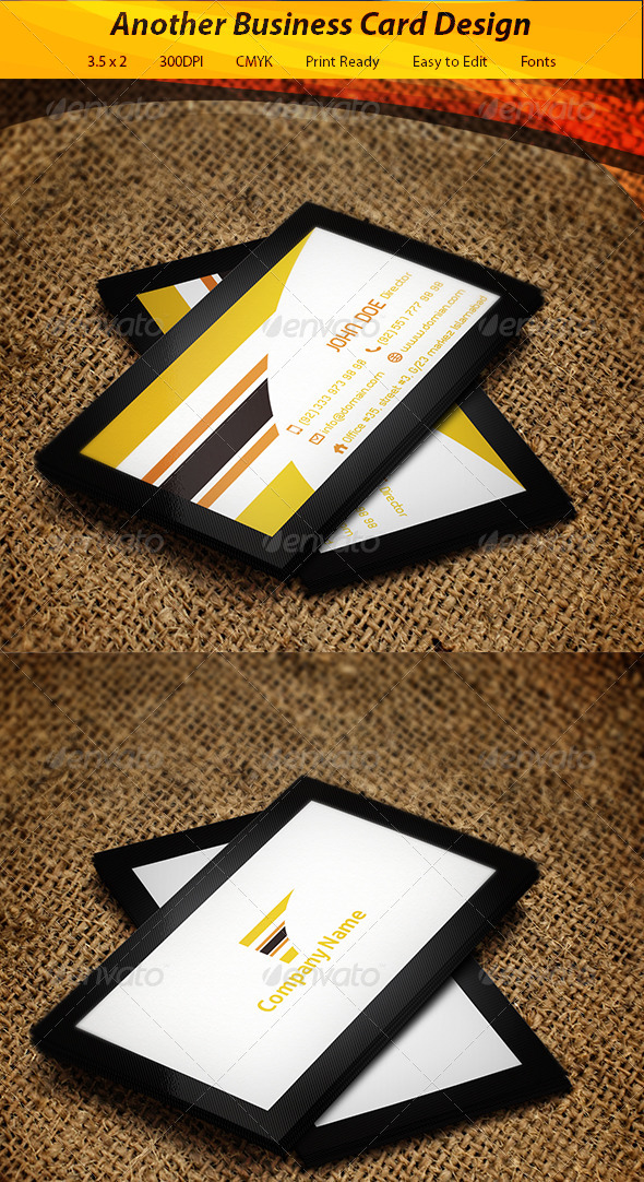 GraphicRiver Business Card 5970100