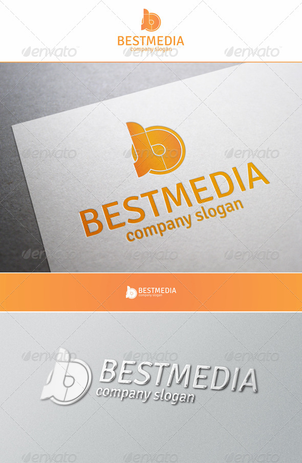 Best Media - B Creative Logo - Letters Logo Templates