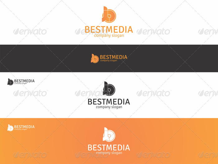 Best Media - B Creative Logo