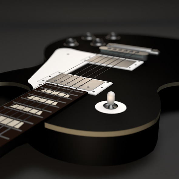 3DOcean Gibson Les Paul Guitar 5972270