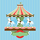 Vector Card with Carousel - GraphicRiver Item for Sale