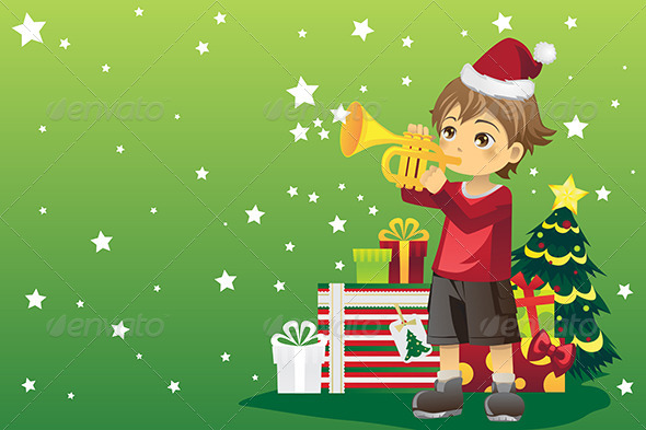 GraphicRiver Christmas Boy 5972888