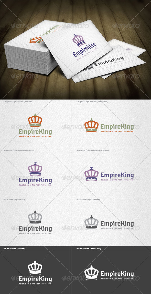 GraphicRiver Empire King Logo 5973025