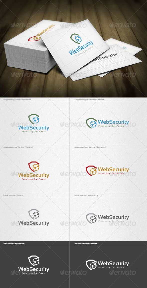 GraphicRiver Web Security Logo 5973051