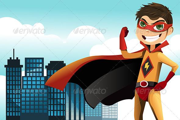 GraphicRiver Superhero 5973895