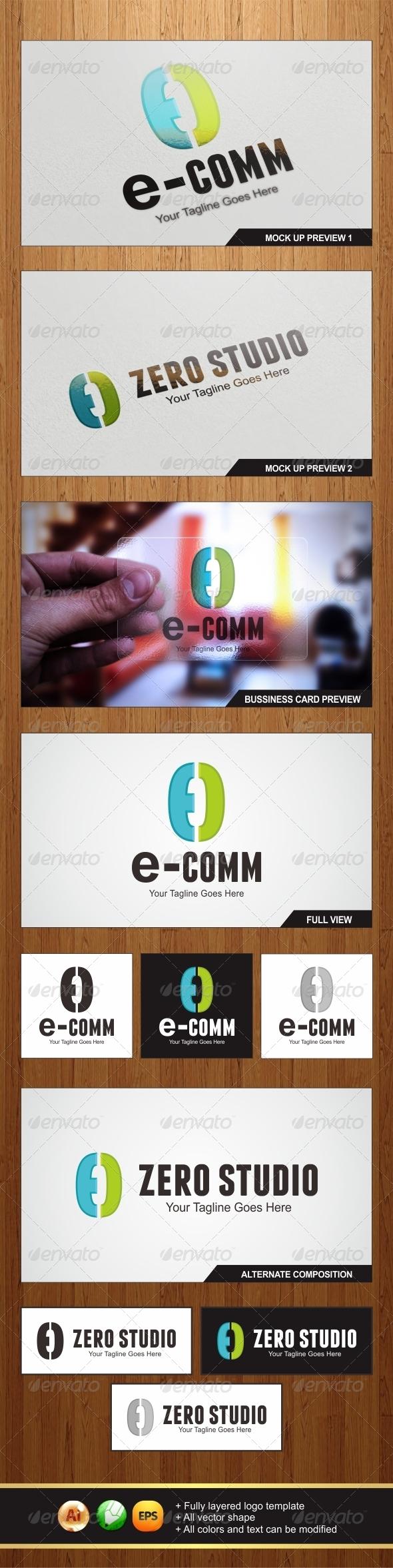 GraphicRiver Communication Logo 5973907