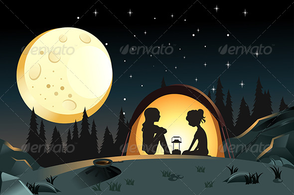 GraphicRiver Camping 5975020
