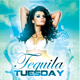 Tequila Tuesday Flyer Template - GraphicRiver Item for Sale