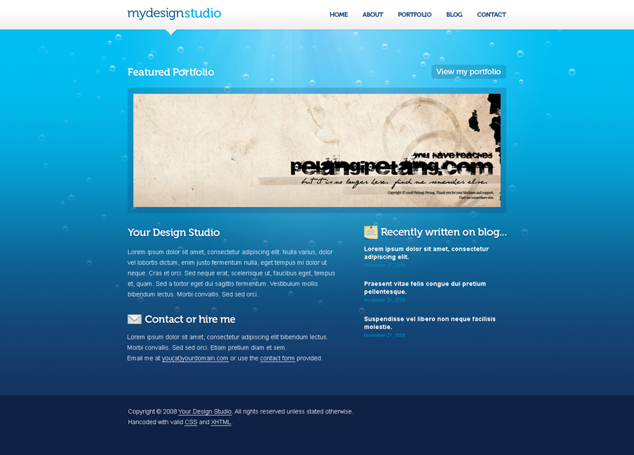 Blu Ocean Portfolio PSD Template - 1_mainpage.jpg