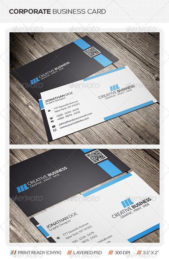 GraphicRiver Corporate Business Card 5975293
