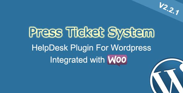 CodeCanyon Press Ticket System WordPress HelpDesk Plugin 5975337