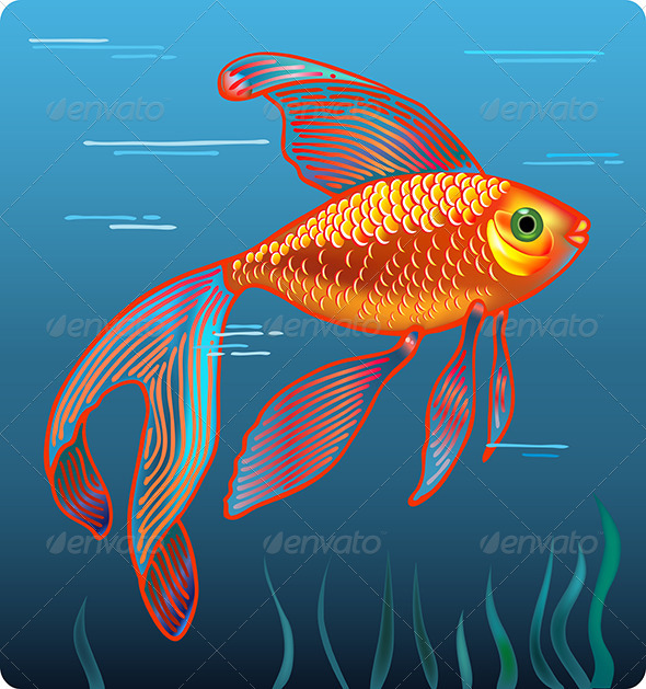 GraphicRiver Golden Fish 5976123