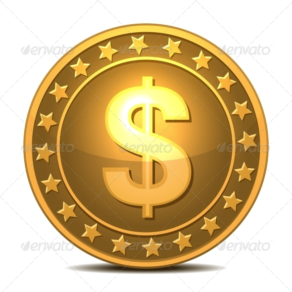 GraphicRiver Dollars Money Coin 5976550