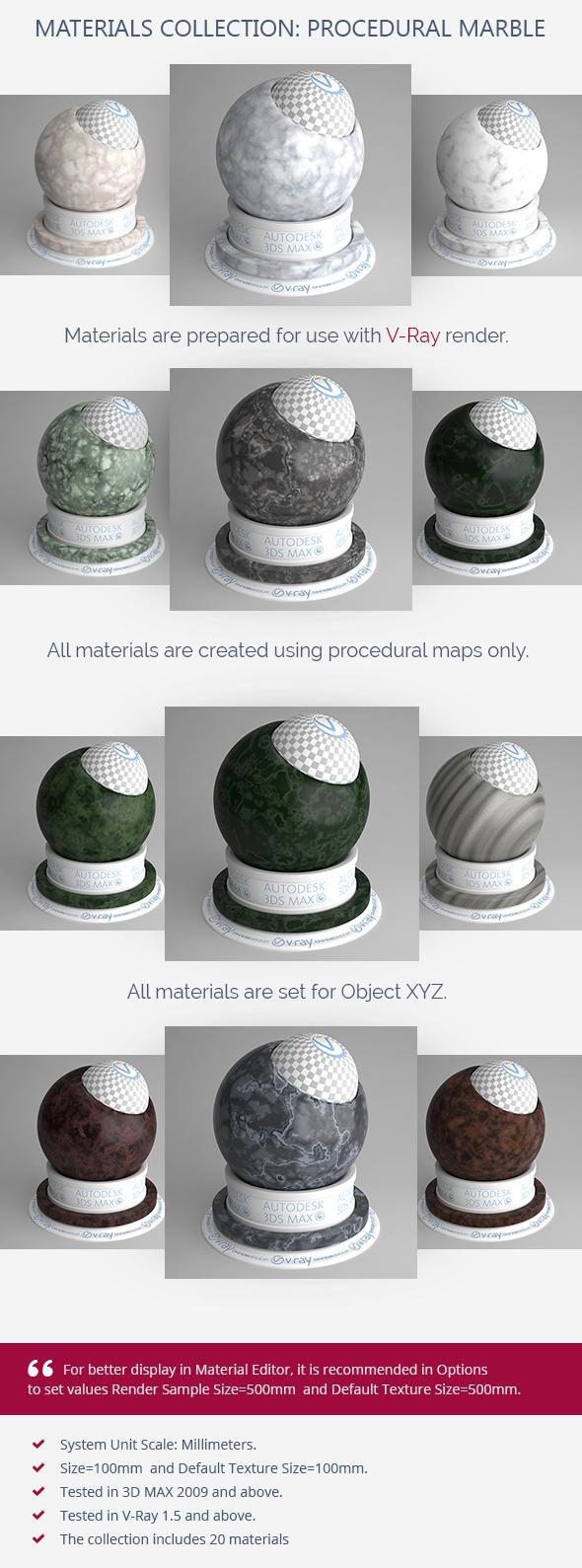 3DOcean Procedural Marble 5976702