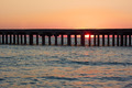 Old sea pier at sunset - PhotoDune Item for Sale