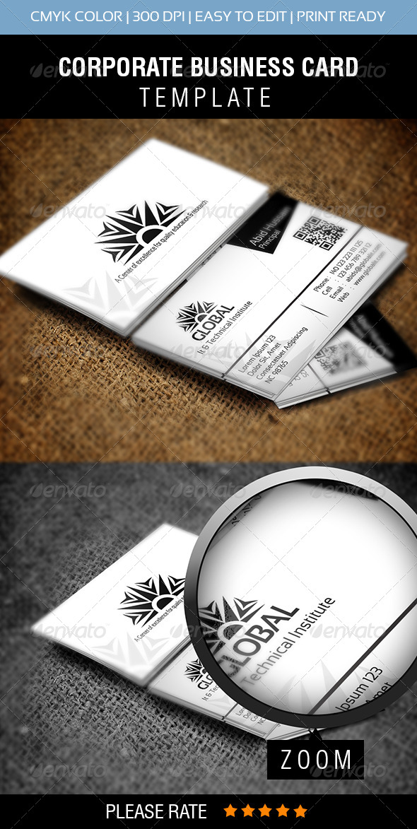GraphicRiver Global IT Business Card 5978390