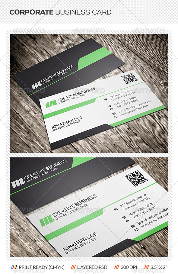 GraphicRiver Creative Corporate Business Card 5978547