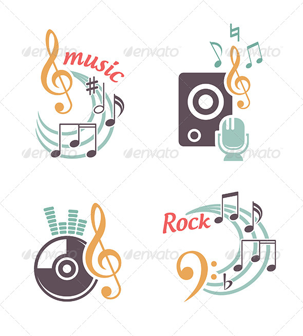 GraphicRiver Music Vector Elements 5978998