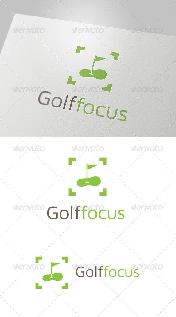GraphicRiver Golf Focus Logo 5979259