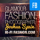 Glamour & Fashion Facebook Timeline Cover Pro - GraphicRiver Item for Sale